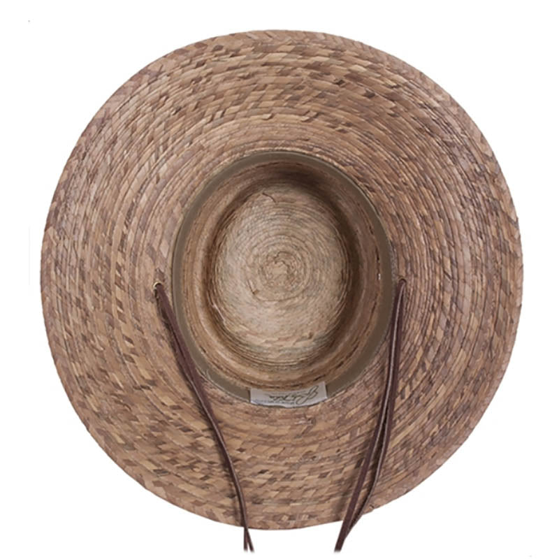 Burnt Palm Leaf Outback Sun Hat for Small Heads - Tula Hats