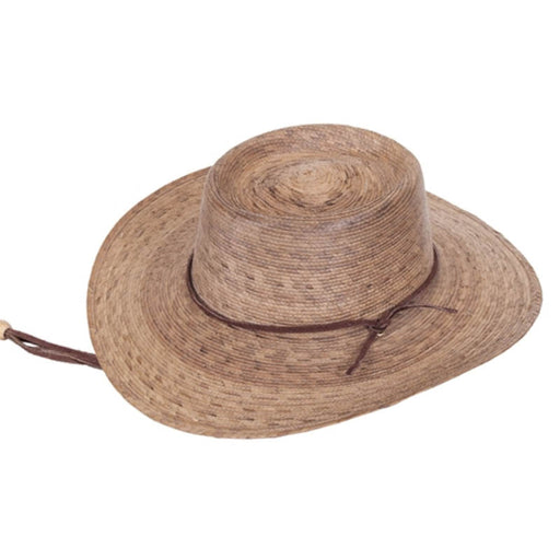 Outback Burnt Palm Leaf Sun Hat, 2XL - Tula Hats