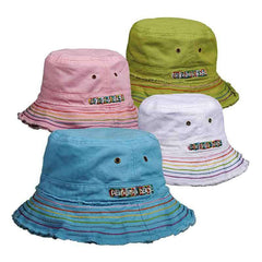 Panama Jack Kids Twill Bucket Hat