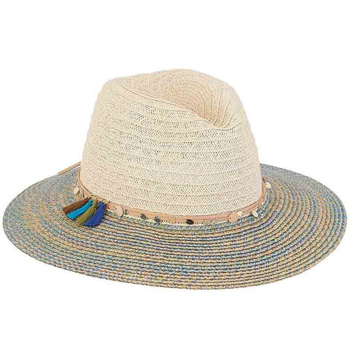 Petite Safari Hat with Colorful Brim - Sunny Dayz™
