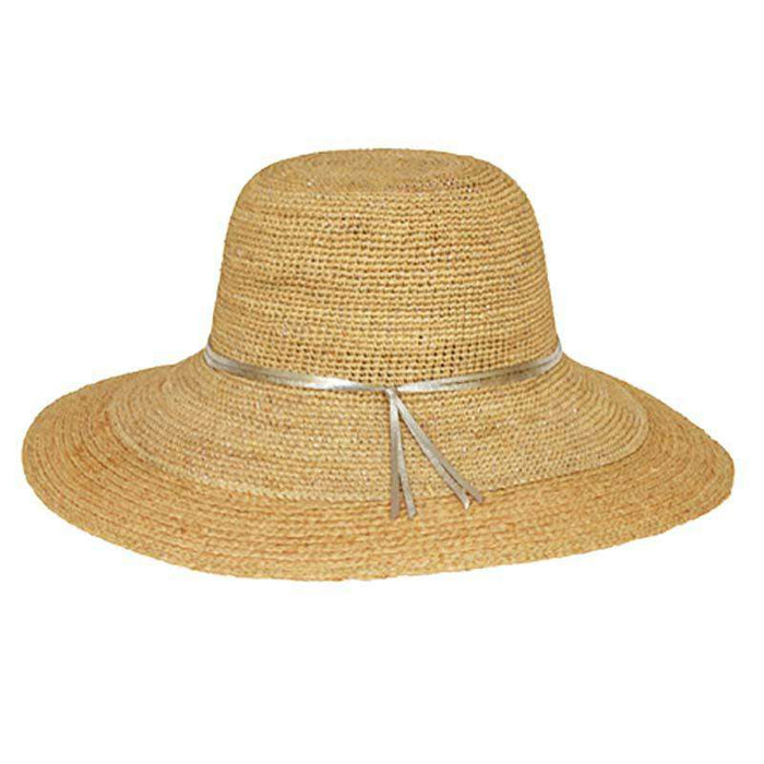 Large Crocheted Raffia Beach Hat - SetarTrading Hats