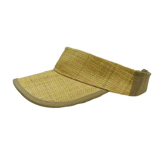 Raffia Tennis  Golf Sun Visor for Men - DPC Global Trends