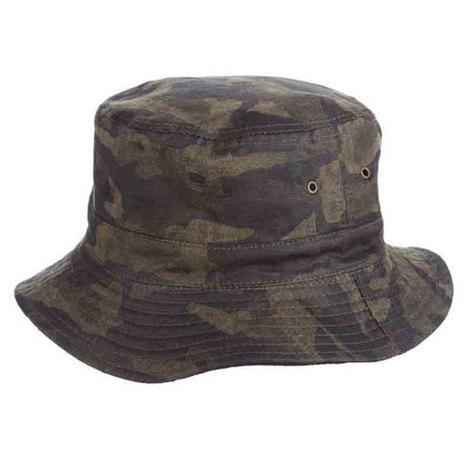 Reversible Cotton Bucket Hat with Fleece Lining - DPC Global