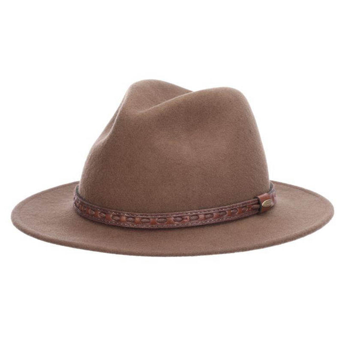 Richmond Crushable Water Repellent Wool Felt Safari Hat - Scala Hat