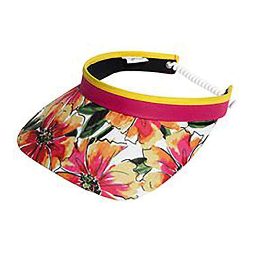 Floral Golf Sun Visor with Coil Lace by GloveIt - SetarTrading Hats