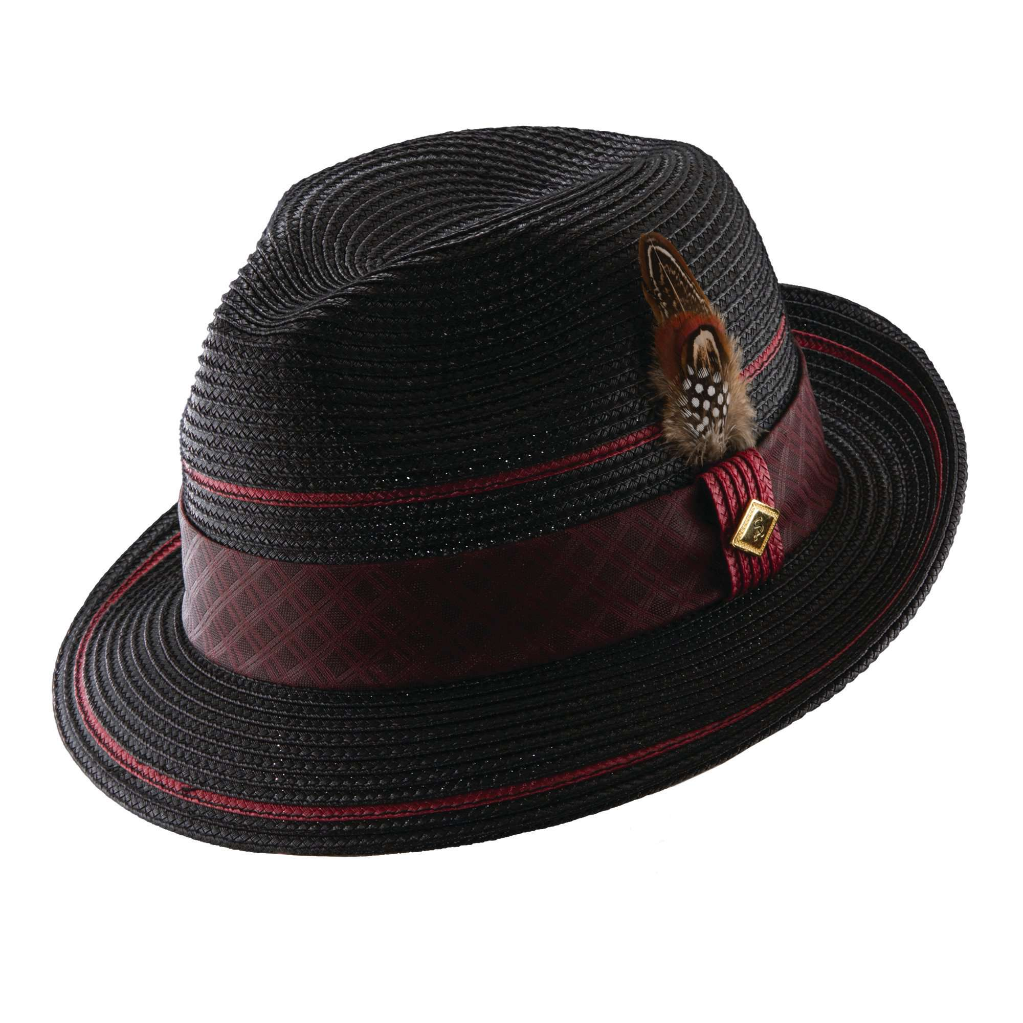 Stacy Adams Pinch Front Fedora - SetarTrading Hats