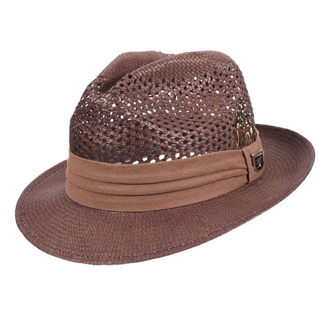Stacy Adams Vented Toyo Fedora