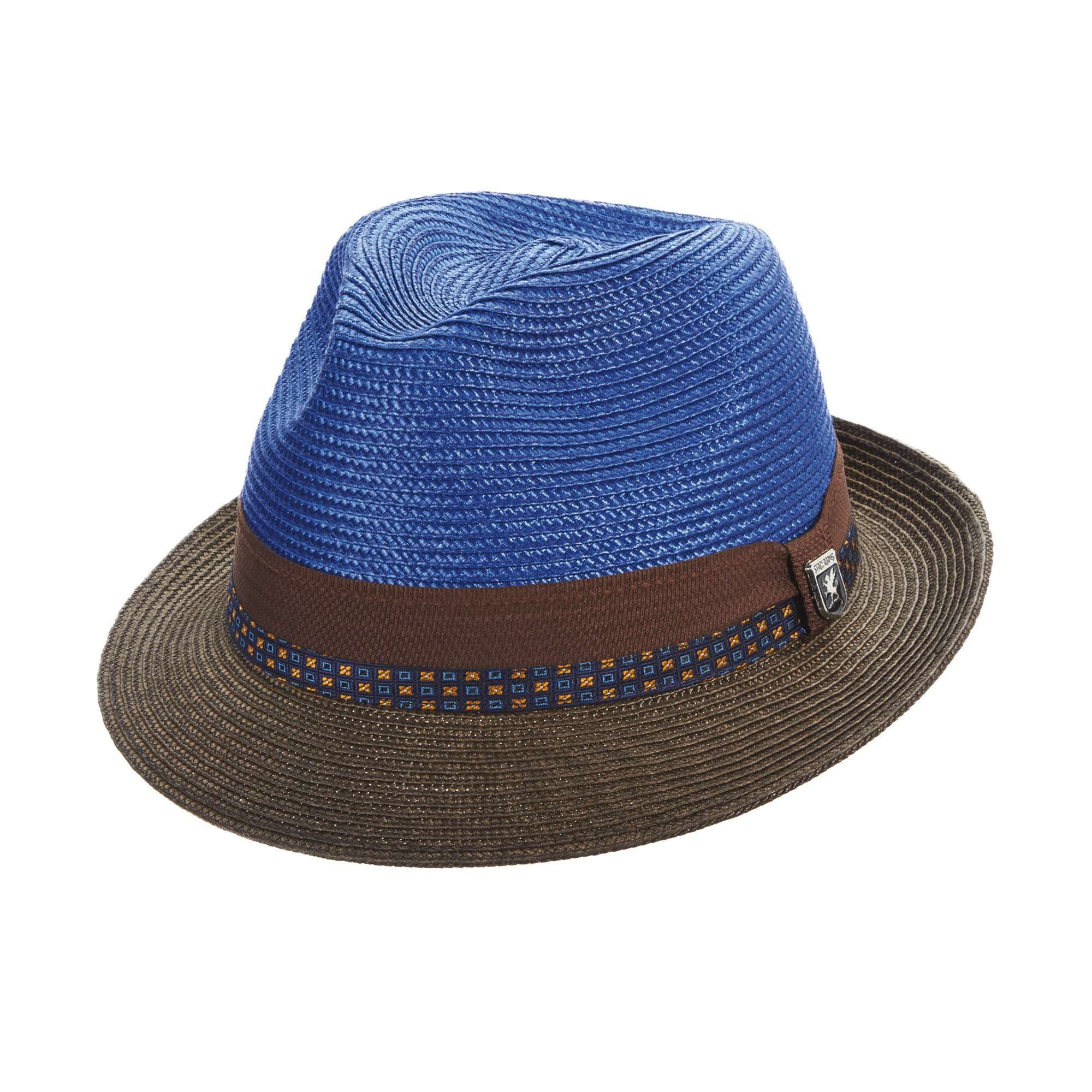 Stacy Adams Two Tone Polybraid Fedora - SetarTrading Hats