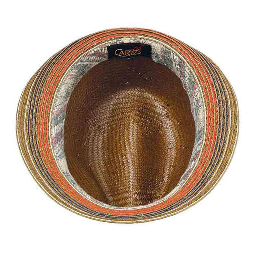 Holistic Toyo Fedora with Ribbon Band by Carlos Santana