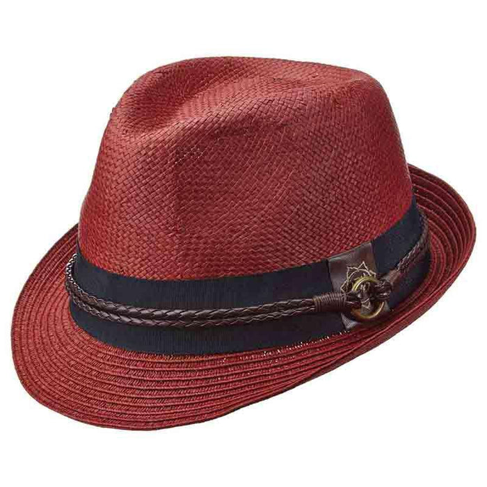 Sound Fedora with Woven Band by Carlos Santana
