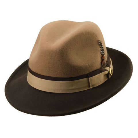 Stacy Adams Two Tone Fedora