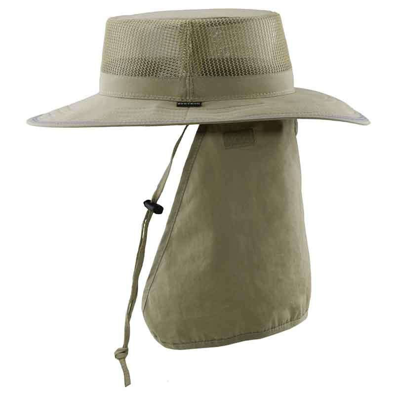 Microfiber Mesh Crown Boonie with Reflective Stripe, XL - Stetson - SetarTrading Hats
