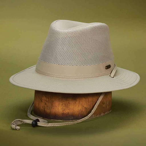 Stetson No Fly Zone Safari Hat - Legendary Stetson Hats