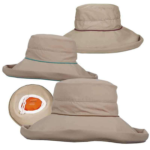 No-Fly Zone Up Turned Brim Hat for Women - Stetson