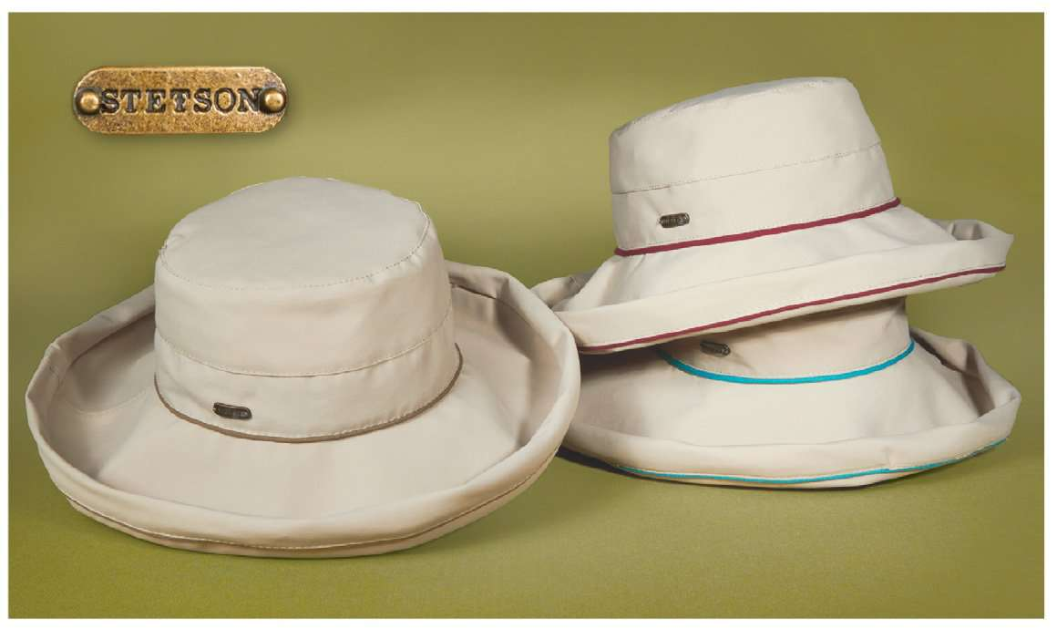 No-Fly Zone Up Turned Brim Hat for Women - Stetson - SetarTrading Hats