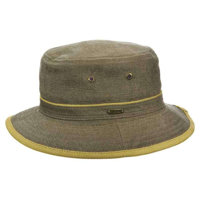 Oxford Bucket Hat with Contrast Trim - Stetson Hats