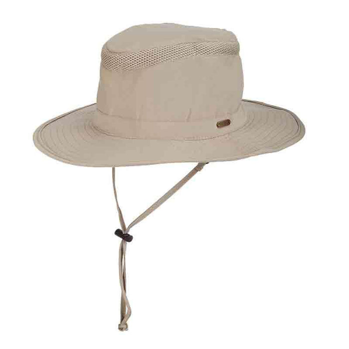 Stetson No Fly Zone Neck Flap Safari Hat - Reel In