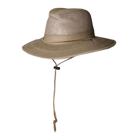 Stetson Mesh Crown Safari Hat