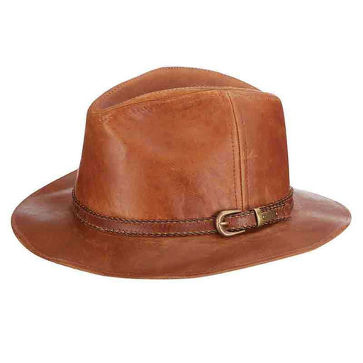 Goatskin Safari Leather Hat by Stetson Hats