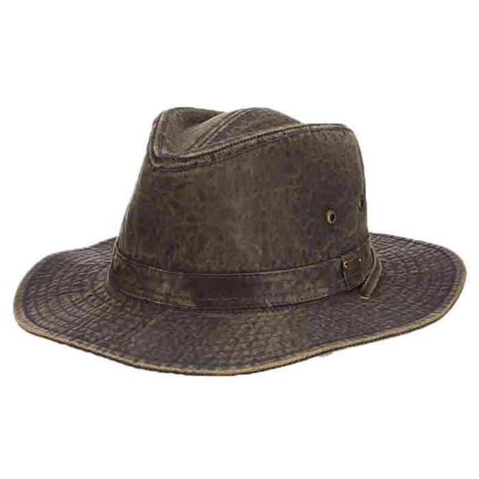 Weathered Cotton Outback Hats by Stetson