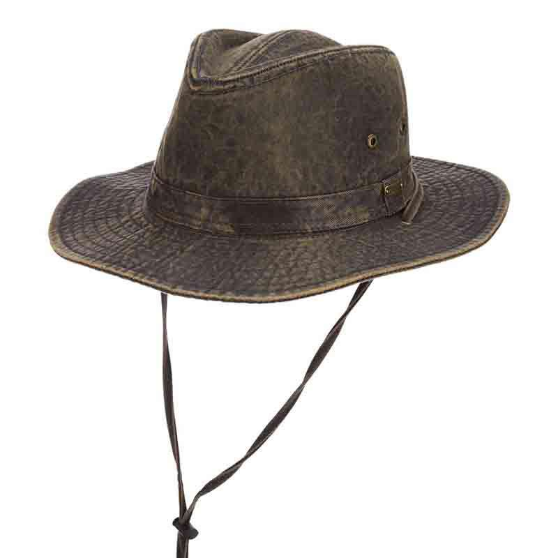Weathered Cotton Outback Hats - Stetson Hats