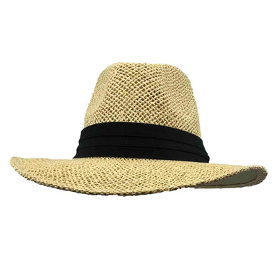Safari Hat with Black Band - Milani Hats - SetarTrading Hats