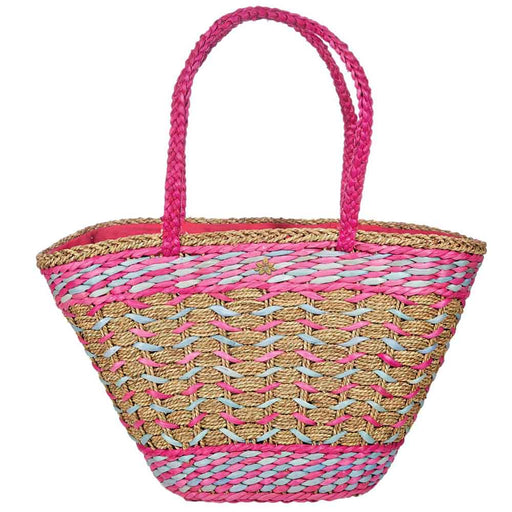 Seagrass Tote with Braided Handles - Cappelli Straworld