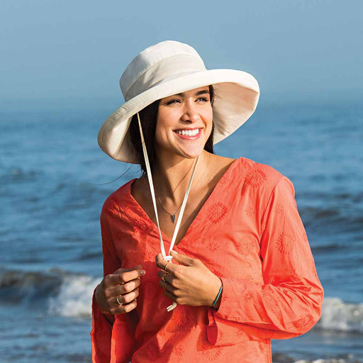 Seaside Sun Hat with Mesh Crown - Wallaroo Hats
