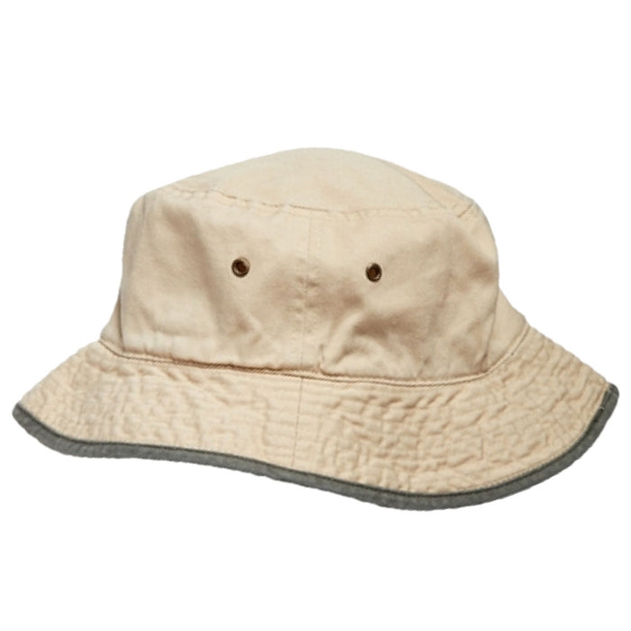 Small Heads Classic Cotton Bucket Hat - Boardwalk Style Hats