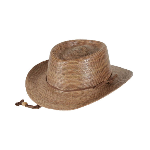 Small Heads Outback Burnt Palm Leaf Sun Hat - Tula Hats