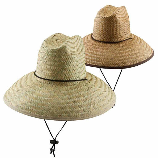 Large Brim Palm Lifeguard Beach Hat - DPC Outdoor