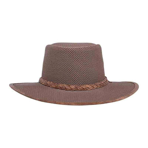 Head 'n Home SolAir: The Soaker Mesh Outback Hat up to 3XL - Tan