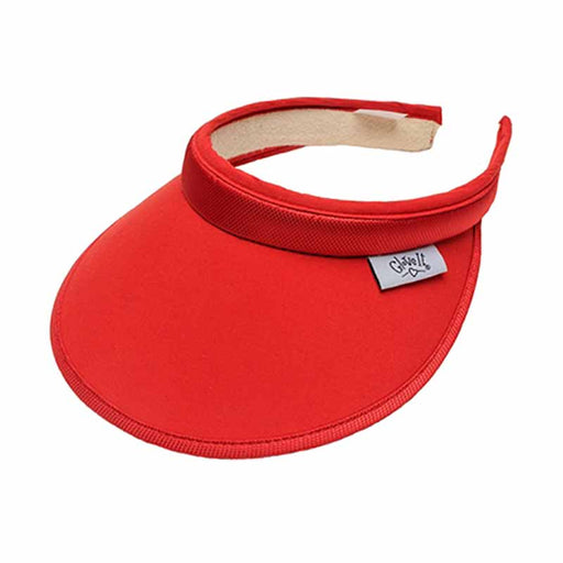 Solid Color Clip On Golf Sun Visor by GloveIt