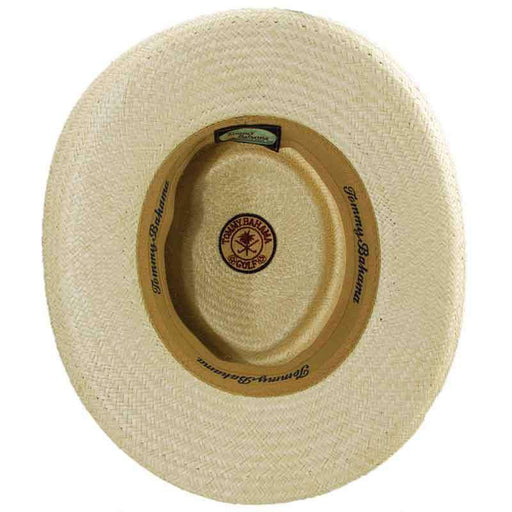 Tommy Bahama Palm Gambler Hat with 3-Pleat Cotton Band - SetarTrading Hats