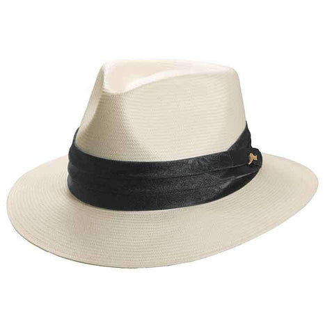 Tommy Bahama BU Toyo Safari Hat with Jacquard Band for Men