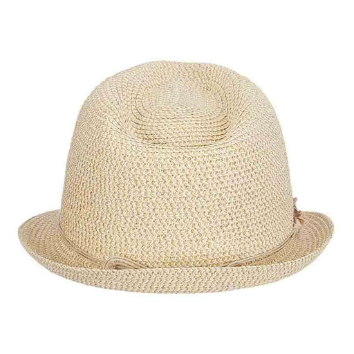 Tommy Bahama Gold Trilby Fedora for Women