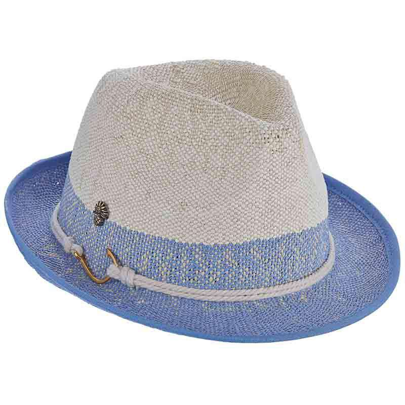 Nautical Bangkok Toyo Fedora by Tommy Bahama
