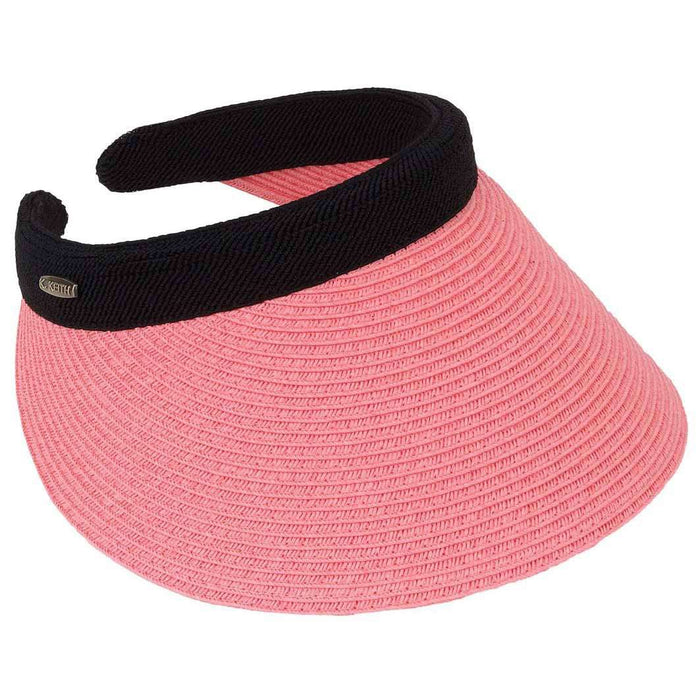 Braided Toyo Clip On Sun Visor - Karen Keith - SetarTrading Hats