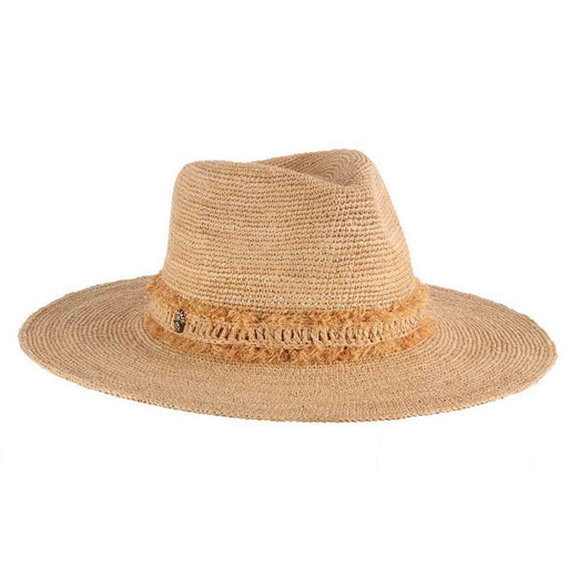 Tommy Bahama crocheted raffia safari hat women summer beach