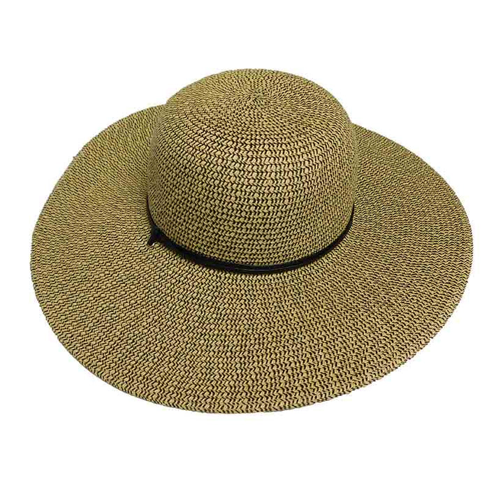 Heather Floppy Sun Hat with Chin Strap - Milani Hats
