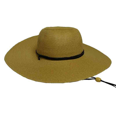Tweed Summer Hat with Chin Strap by Milani for Women - SetarTrading Hats