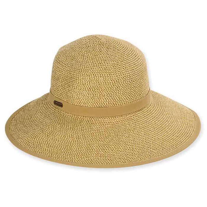 Kert Sun Savor Hat with Cotton Trim - Sun 'n' Sand®