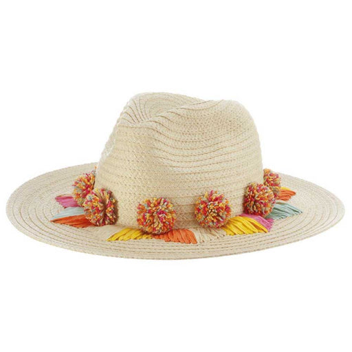 Pom Pom Summer Safari Hat - Brooklyn Hat Co
