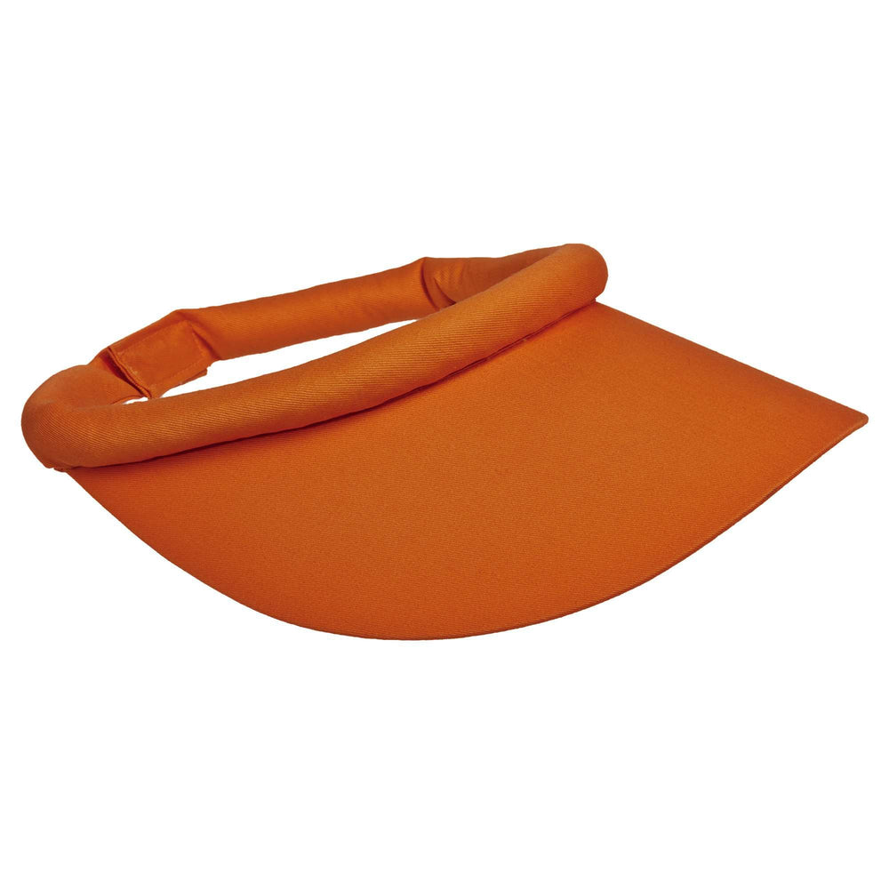 Cotton Sun Visor with Rolled Band - SetarTrading Hats