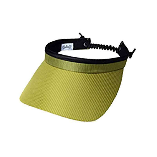Kiwi Check Golf Sun Visor with Coil Lace by GloveIt