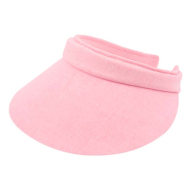 "Cotton Clip On Sun Visor, 4"" peak - Epoch Hats"