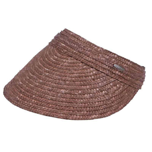 Braided Laichow Sun Visor by Karen Keith - SetarTrading Hats