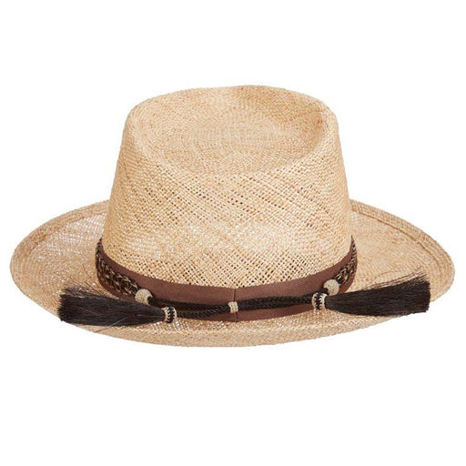 Venice Handmade Bao Straw Fedora - Brooklyn Hat Co
