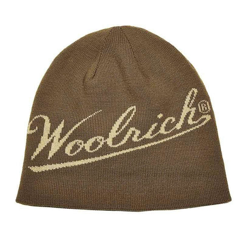 Woolrich®Knit Reversible Beanie - Brithish Tan