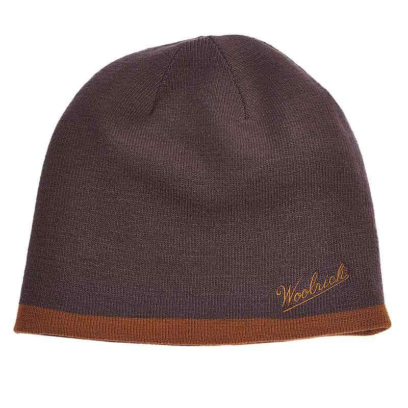 Woolrich®Knit Reversible Beanie - Nickel - SetarTrading Hats